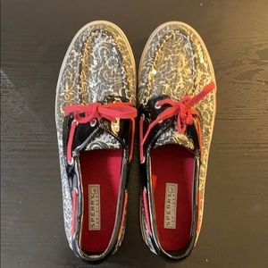Special Occasion Sequined Sperry's